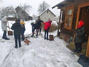Волонтёры спешат на помощь