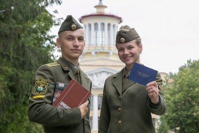 Военные учебные заведения проводят набор